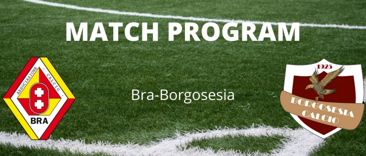 Il match program di Bra-Borgosesia