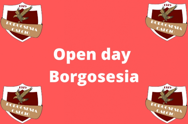 OPEN DAY BORGOSESIA CALCIO